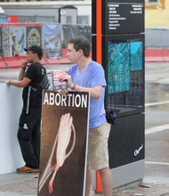 Abortion Victim Sign