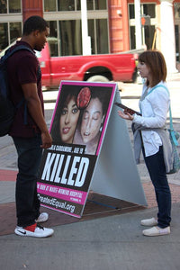 Abortion Victim Sign (Mother)