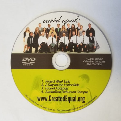 Abortion Victim Video DVD