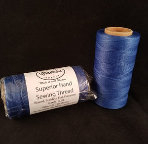 MLS Superior Hand Sewing Thread, Royal Blue