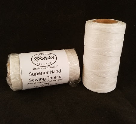 MLS Superior Hand Sewing Thread, White