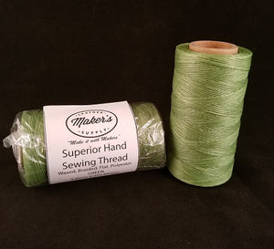 MLS Hand Sewing Thread, Green