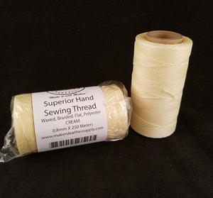 MLS Superior Hand Sewing Thread, Cream