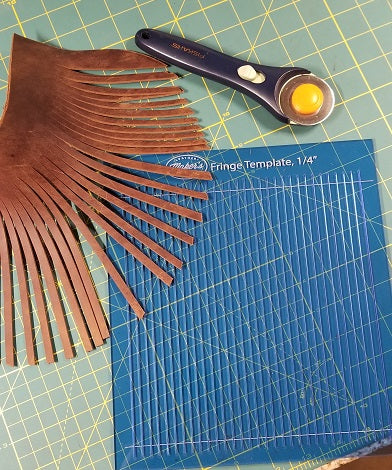 Fringe Cutting Template