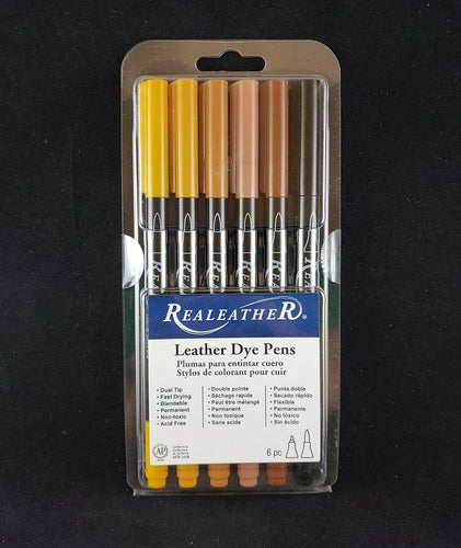 Leather Dye Pens, Earthtones