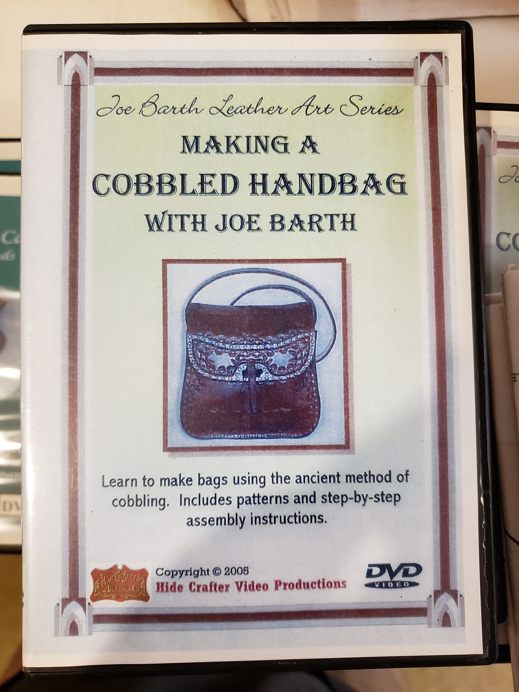 Making a Cobbled Handbag with Joe Barth