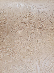 Tooled Floral Embossed