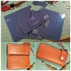 Biker/Trucker Wallet Template Set