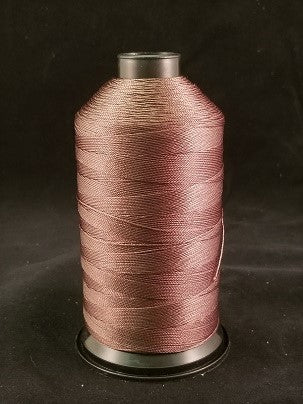 Brown Bonded Nylon Thread, 8oz
