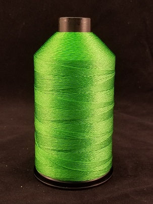 Clover Green Bonded Nylon Thread, 8oz