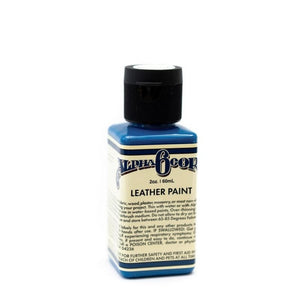 Alpha 6 Leather Paint – Blue – 2.5 oz