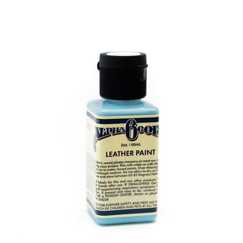 Alpha 6 Leather Paint – Sky Blue – 2.5 oz