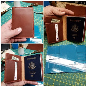 Passport Wallet Template Set