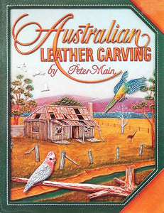 Austrailian Leather Carving by Peter Main