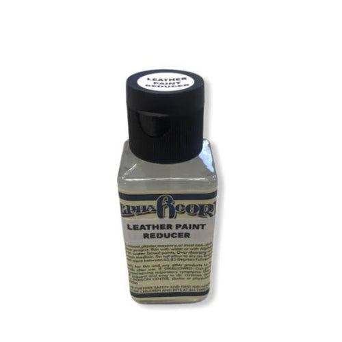 Alpha 6 Leather Paint – Paint Reducer – 2.5 oz