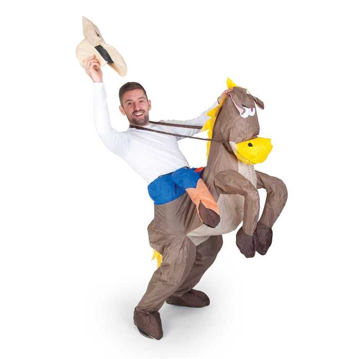 Cow boy Inflatable costume