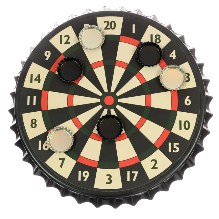 Magnetic Bottle Cap Darts