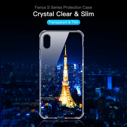 Fence S Series Shell iPhone X -Clear