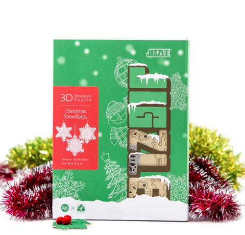 [JIGZLE] Christmas Snowflakes Box Set (3 in one)