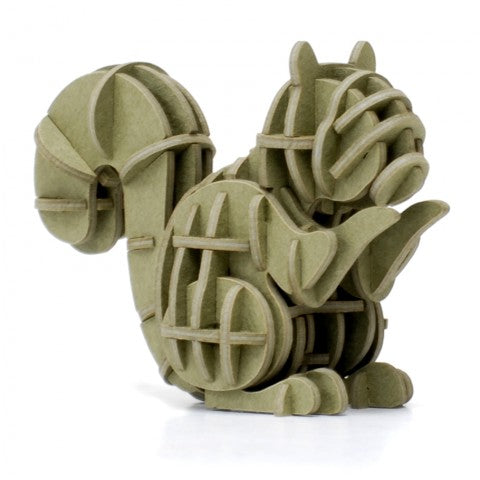 SQUIRREL 3D PAPER PUZZLE