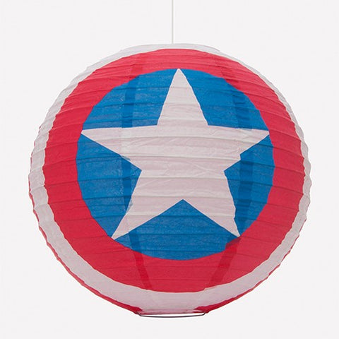Marvel Avengers Captain America Paper Spherical shade 30cm