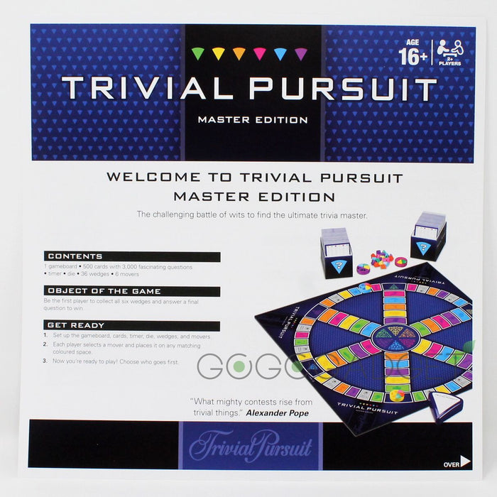 Trivial Pursuit Master Edition