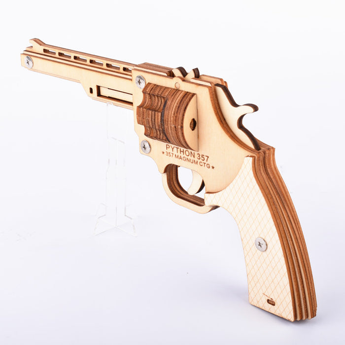 Python 3D Wooden Rubber Band Shooter Puzzle