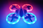 2.4G 4CH R/C Drone with  Altimeter&Neon Lights