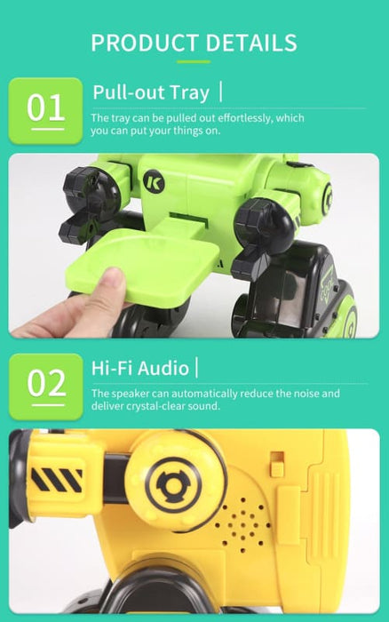 CADY WIRI Intelligent Robot Green - R13