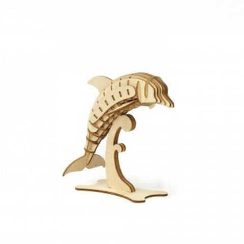 DOLPHIN 3D WOODEN PUZZLE
