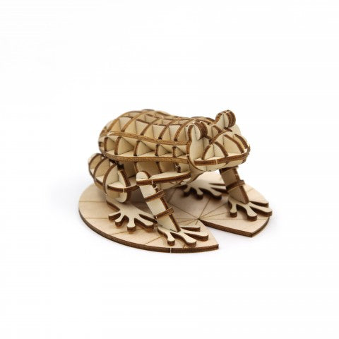FROG 3D WOODEN PUZZLE