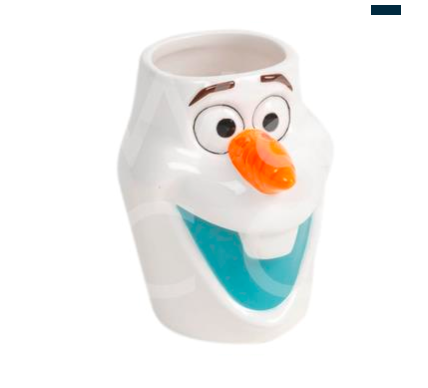 Disney Frozen Olaf Shaped Mug
