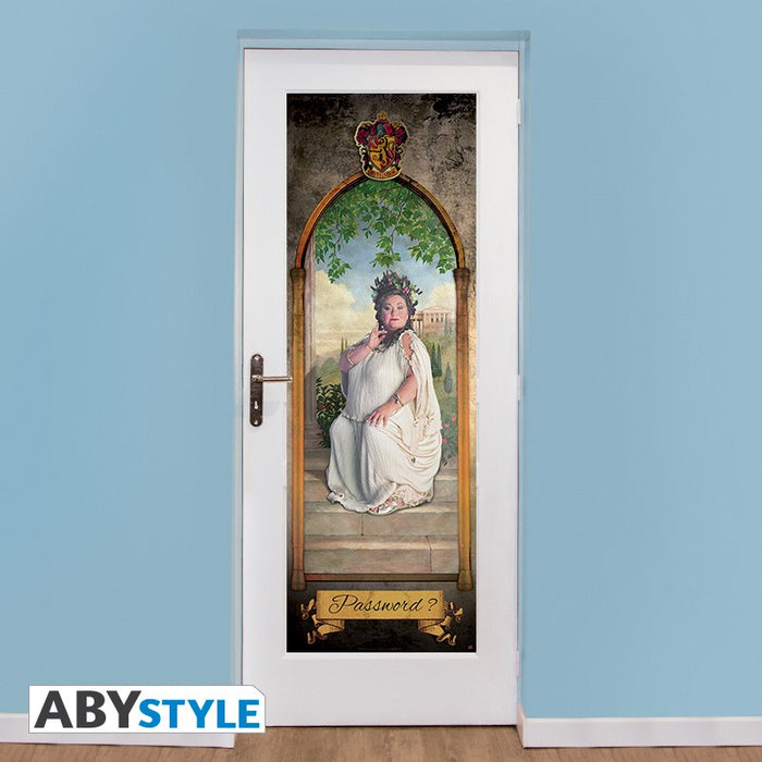 Door Poster - The Fat Lady