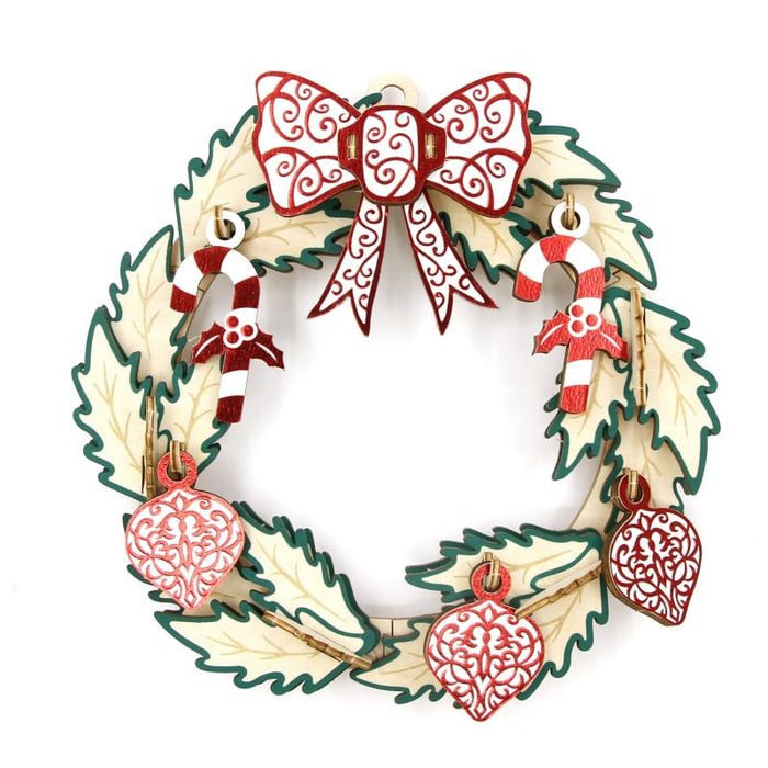 [JIGZLE ] Christmas Wreath (15cm)