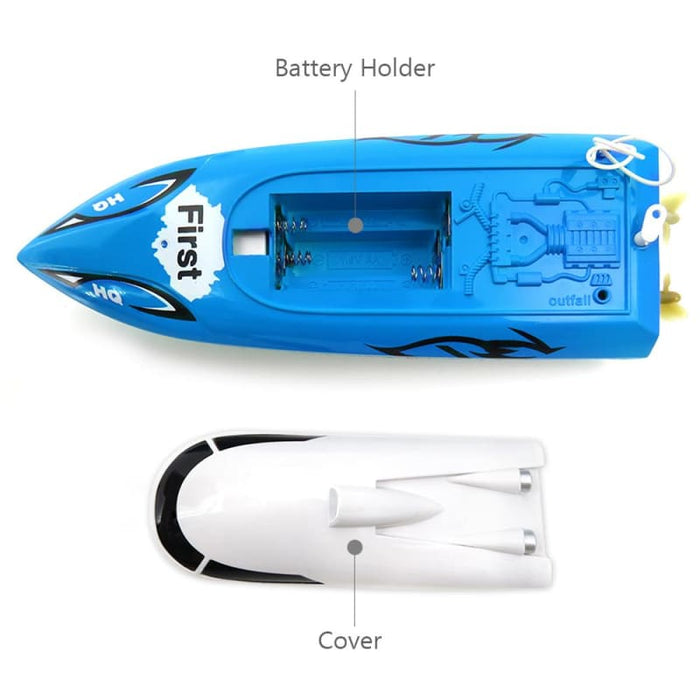 Little Noble Speed Boat Blue
