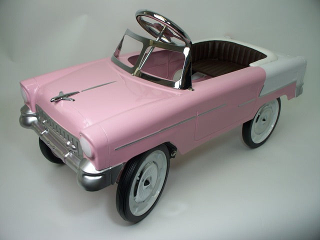 55 Classic Pedal Car In Pink