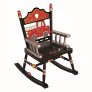 Child Rocking chair-Fire Engine Kids Rocker