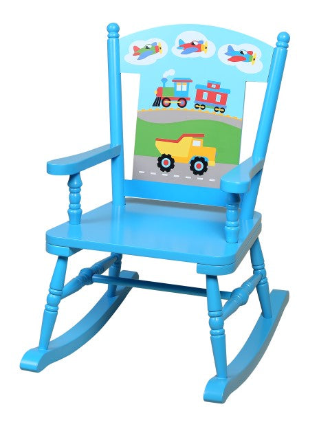 Outstanding Child Rocking Chairs Transportation Themed Kids Rocker Dailytribune Chair Design For Home Dailytribuneorg