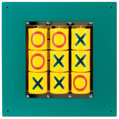 Child toys-Busy Cube - Tic-Tac-Toe Wall Panel-Made in USA
