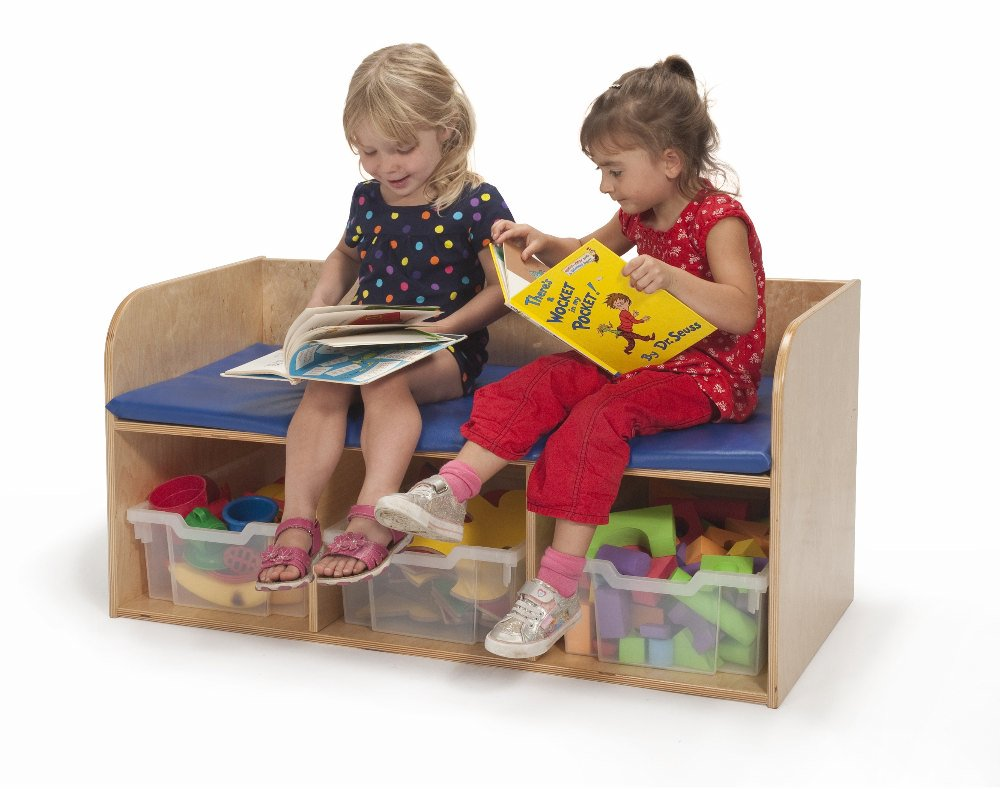 Kids Bench With Storage-Made in USA