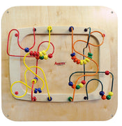 Doctor's office toys-Sculpture Maze Wall Panel-Made in USA