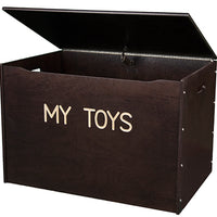 Big Toy Box-White/Natural/Espresso-Personalization Optional , Made in USA