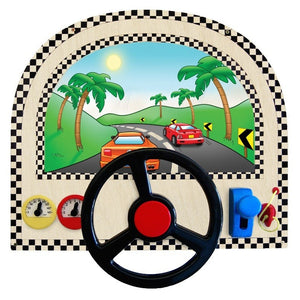 Kids Dashboard Driving Wall Panel-Made in USA