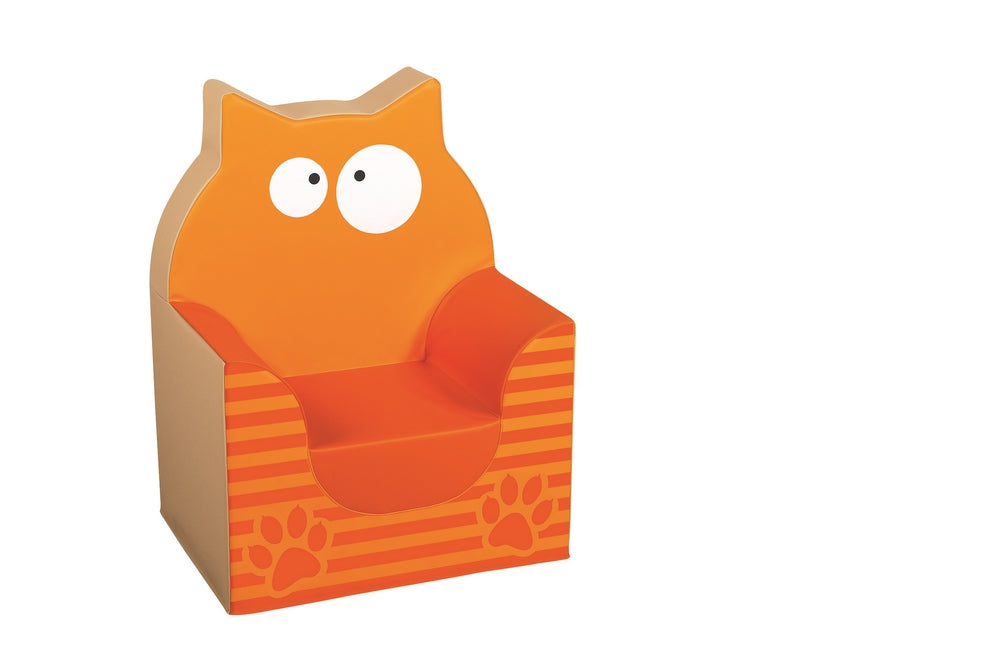 Kids Soft Chair Cat Armchair By Wesco
