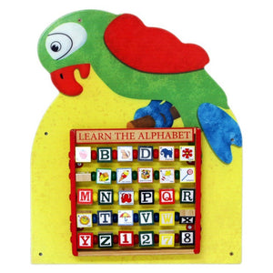 Parrot Wall Panel Toy