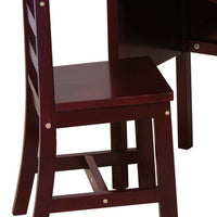 Kids desk - Jr. Roll Top Desk - Espresso