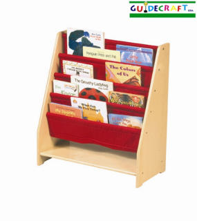 Kids Single Sided Canvas Book Display by Guidecraft