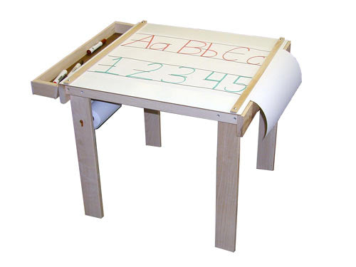 Children's Wooden Art Table