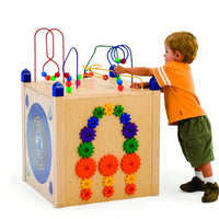 Kids Play Panel Box/Play Cube-5 Sides of Play-Made in USA