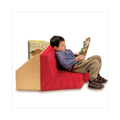 Kids Reading Nook/Couch w/Bookshelf -Made in USA